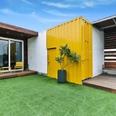 Studio Wood Container home | India