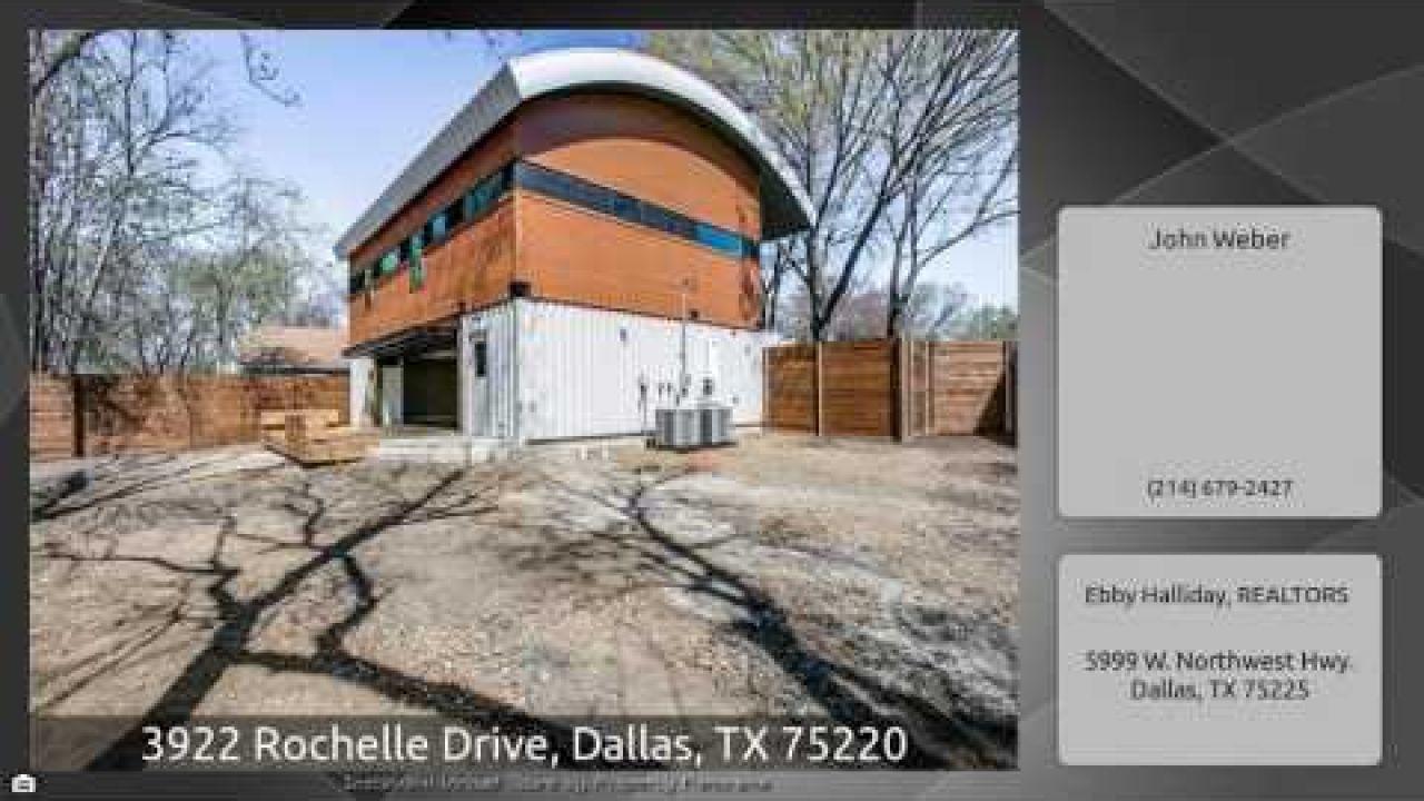 3922 Rochelle Drive, Dallas, TX 75220