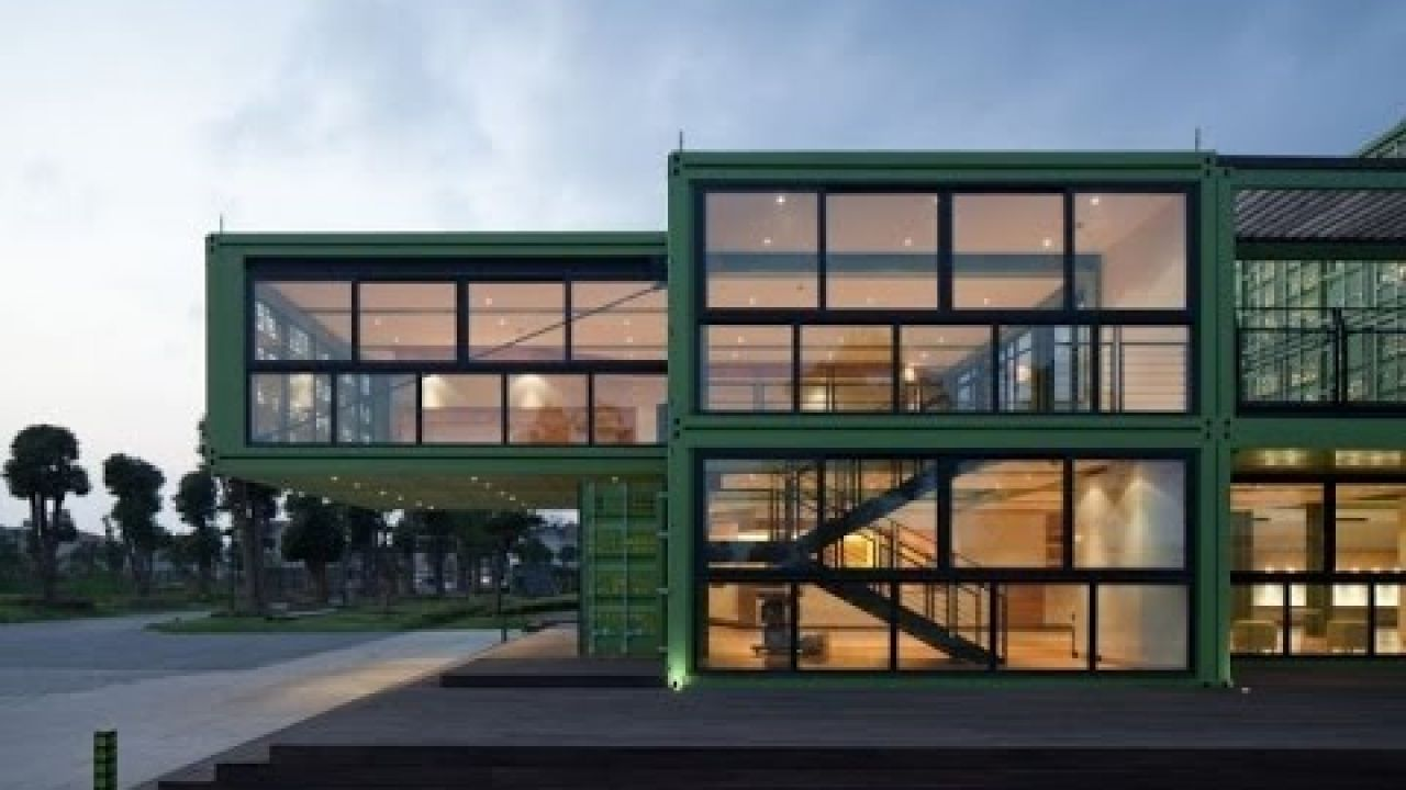 SHIPPING CONTAINERS! Tony's Farm organic food farm by Playze, Shanghai