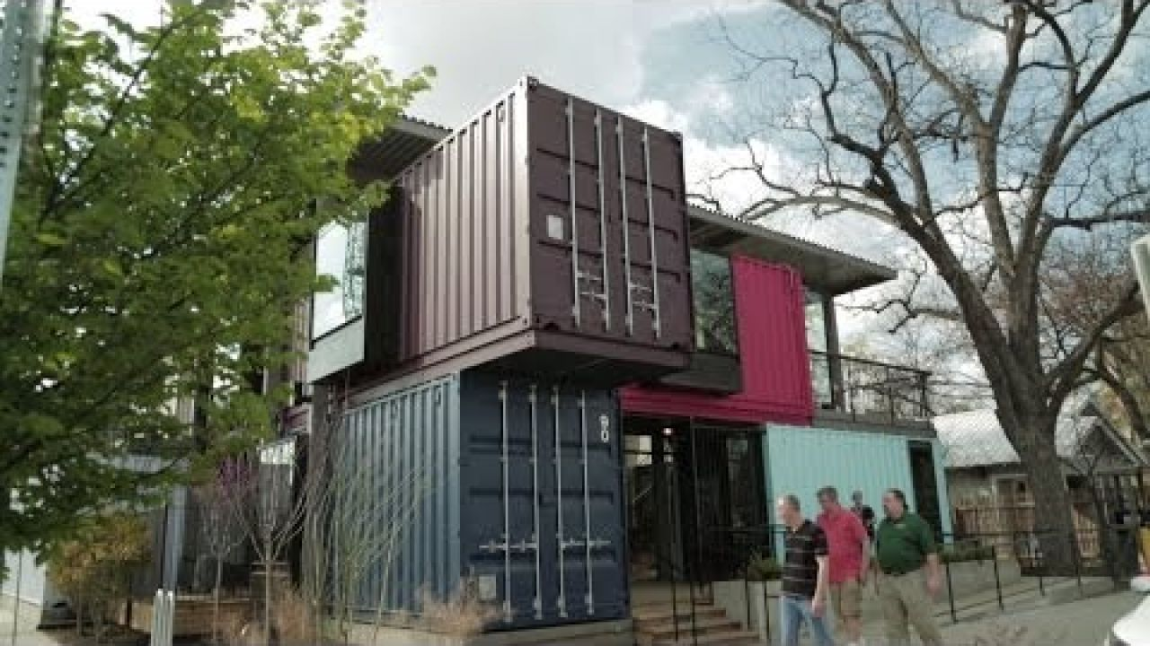 Spotlight: Container Bar, a Bar Made Out of Shipping Containers