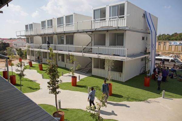Israeli students affordable housing in Sderot